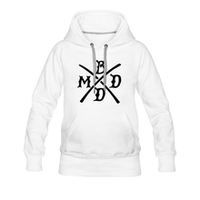 Load image into Gallery viewer, Women's Premium Hoodie Branding - white