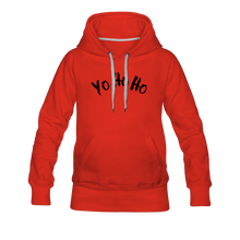 Load image into Gallery viewer, Women's Premium Hoodie yo ho ho - red