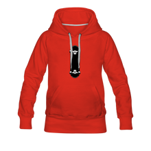 Load image into Gallery viewer, Women's Premium Hoodie skateboard - red