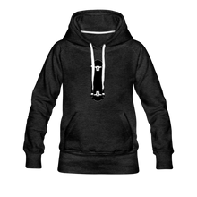Load image into Gallery viewer, Women's Premium Hoodie skateboard - charcoal gray