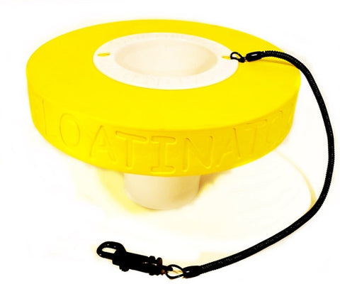 """Yellow"" Floatinator - Floating Cup Holder"