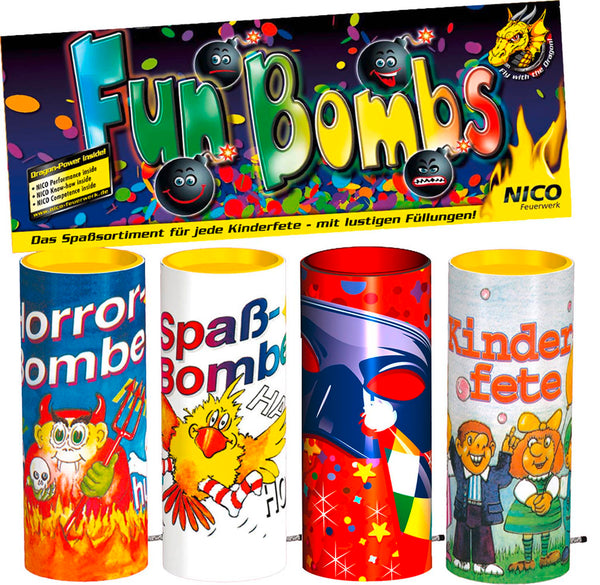 Fun Bombs, 4er-Beutel