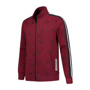 BELIEVE THAT JACKET BORDEAUX