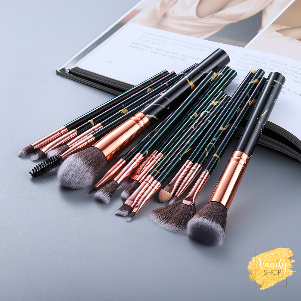 Brush set Luxe - 15 pièces