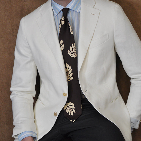 Caruso menswear playful elegance made in Italy