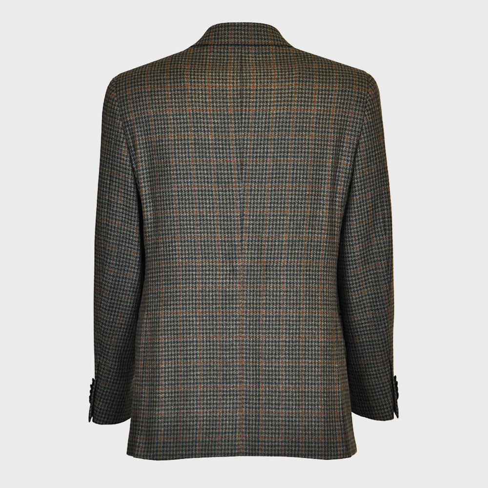 Caruso Men's Wool Jacket Double Breasted | Prince of Walles