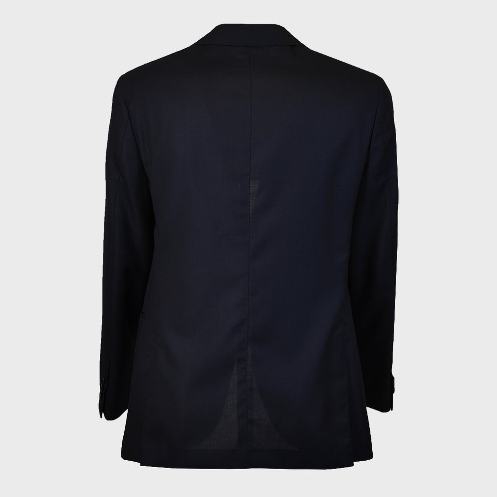 Caruso Men's Jacket Wool for Spring Summer | Blu