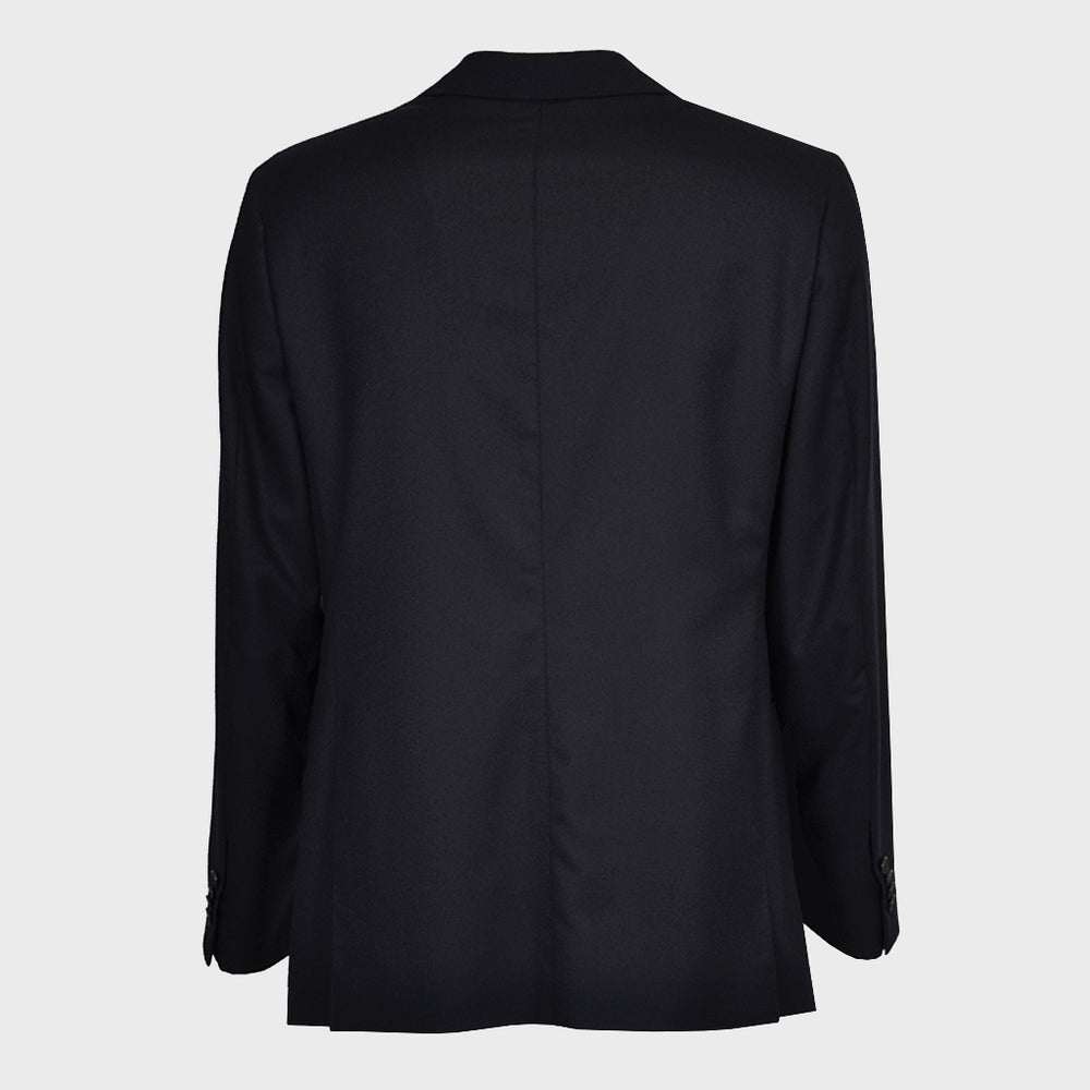 Caruso Men's Wool Jacket Bouble Breasted | Blu