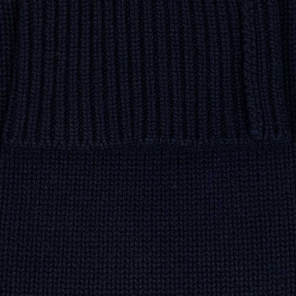 Cruciani | Men's Turtleneck 8 Wires Cashmere Jumper | Blu