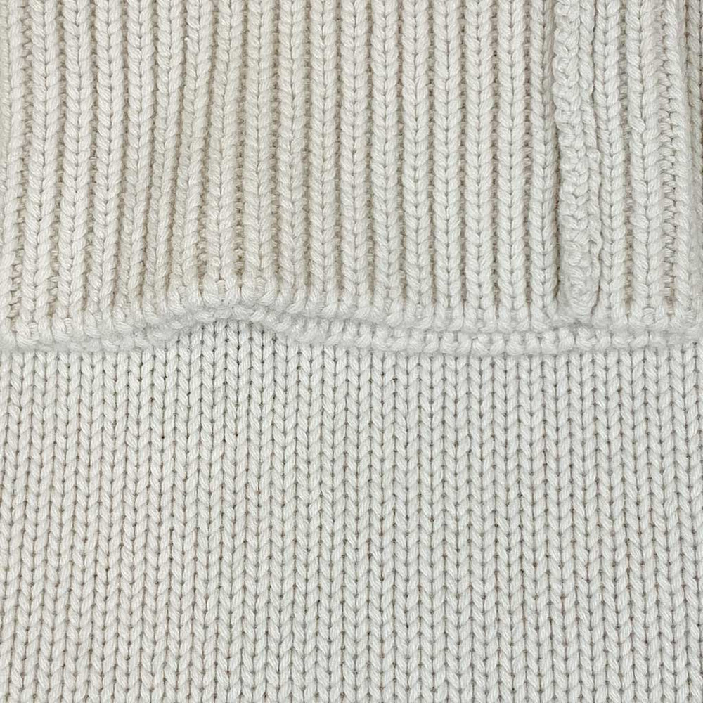 Cruciani | Men's Turtleneck 8 Wires Cashmere Jumper | White