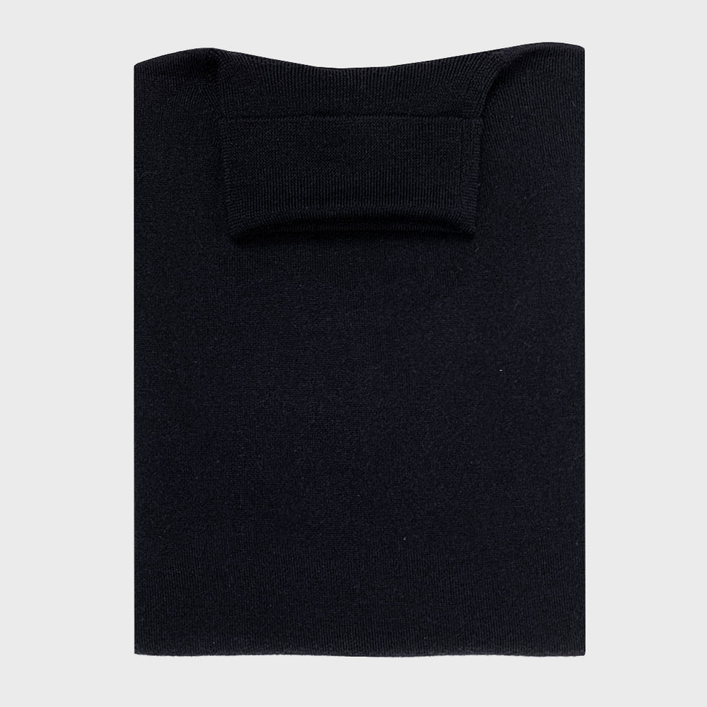Cruciani | Men's Classic Turtleneck Wool Jumper | Dark Blu