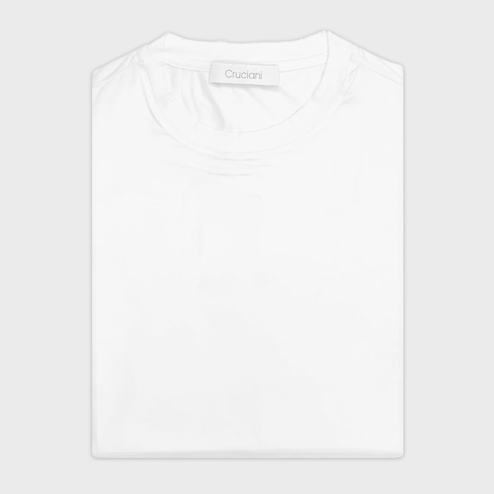 Cruciani | Men's T-Shirt Ossigeno Cotton | White