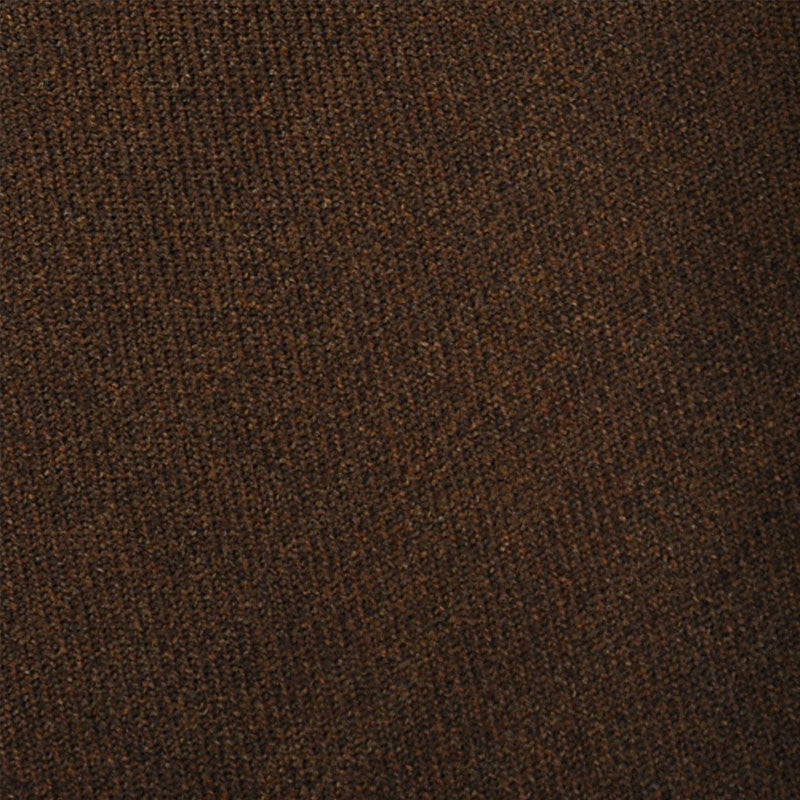 F.Marino Handmade Tie 3-Fold Holland&Sherry Wool Caffè Brown