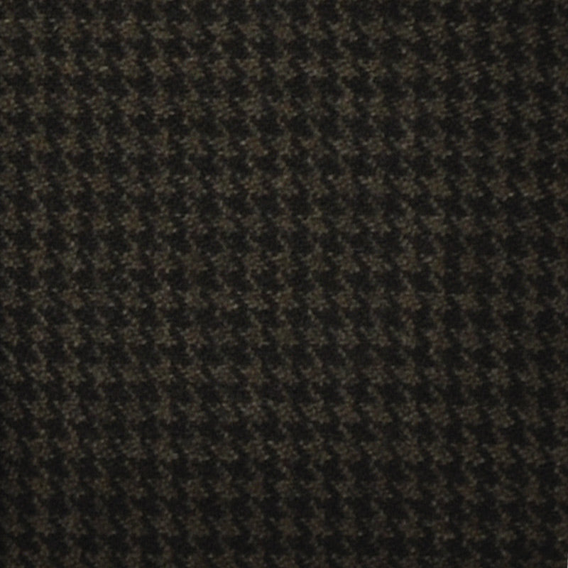 F.Marino Handmade Tie 3-Fold Holland&Sherry Wool Houdstooth