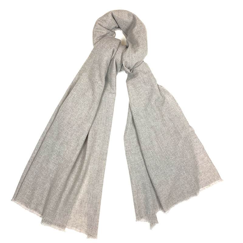 Luxury Cashmere Scarf Handmade 19andreas47 Beige