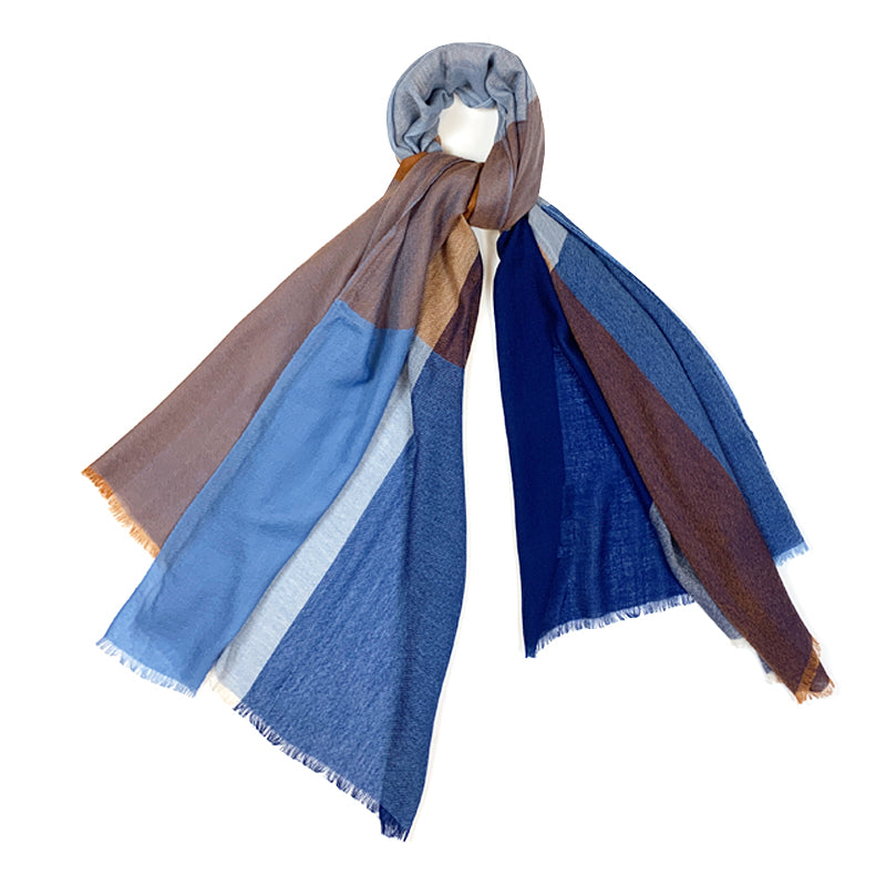 Luxury Cashmere Scarf Handmade 19andreas47 Hots Colds Colors