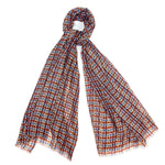 Luxury Cashmere Scarf Handmade 19andreas47 Barolo