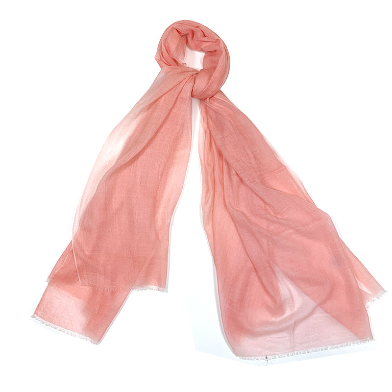 Luxury Cashmere Scarf Handmade 19andreas47 Pink