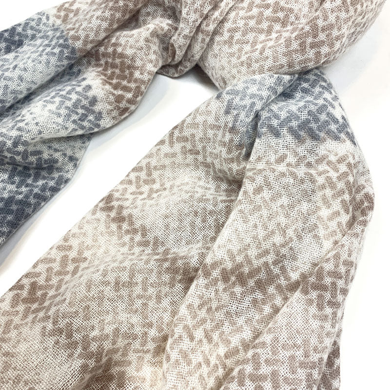 Luxury Cashmere Scarf Handmade 19andreas47 Metal