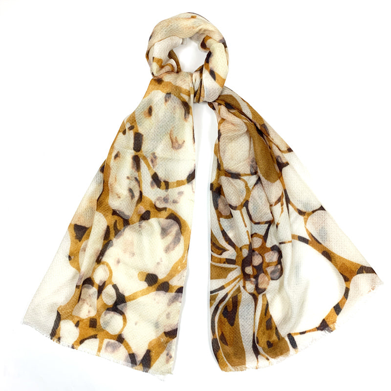 Luxury Cashmere Silk Scarf Handmade 19andreas47 Orchid
