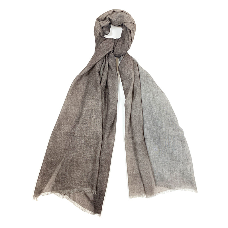 Luxury Cashmere Scarf Handmade 19andreas47 Brown