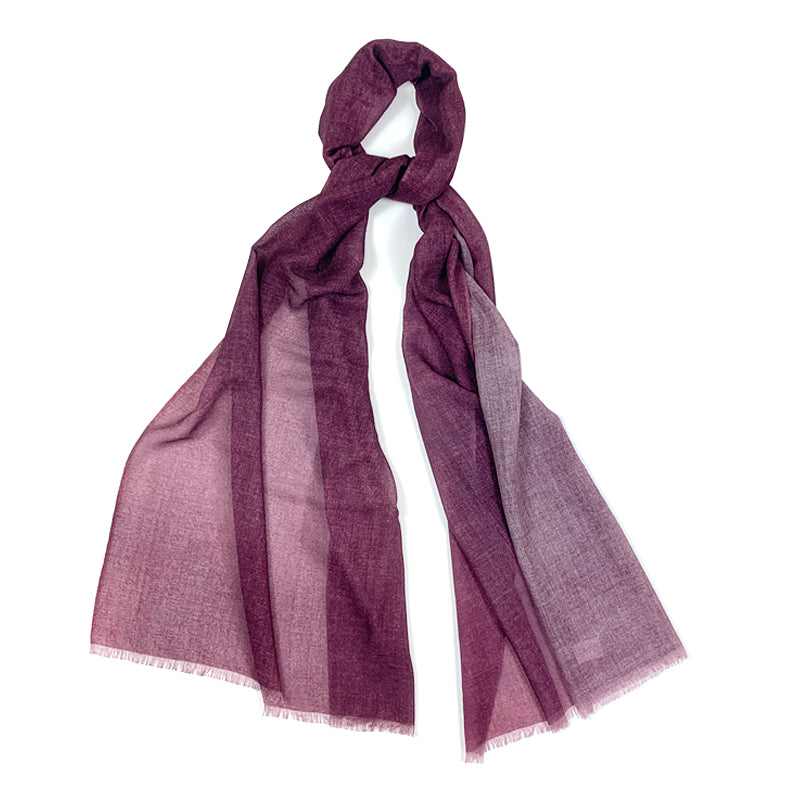 Luxury Cashmere Scarf Handmade 19andreas47 Magenta