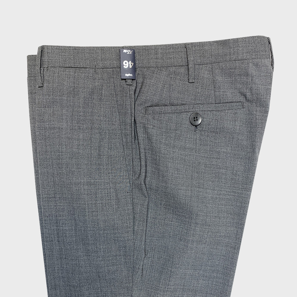 Rota Spring Summer Wool Pants without Pleat Grey50