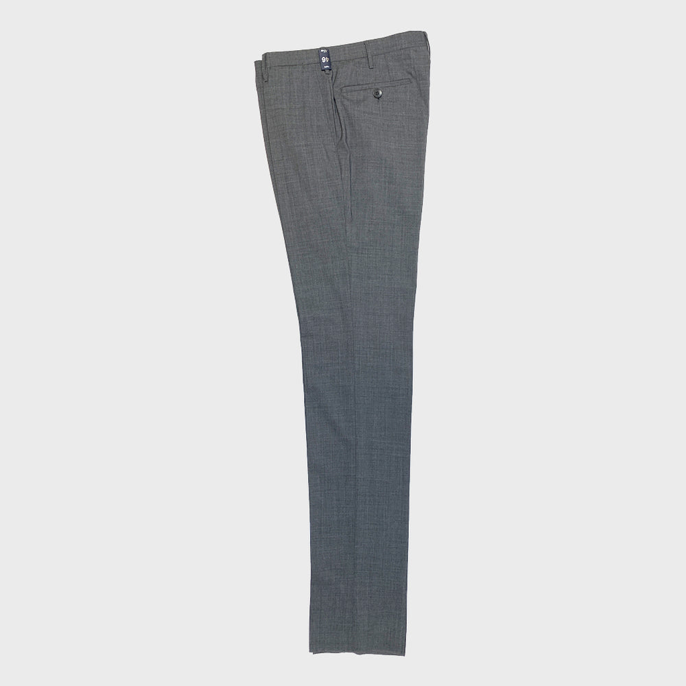Rota | Handmade Men's Wool Classic Trousers Spring Summer | Grey50