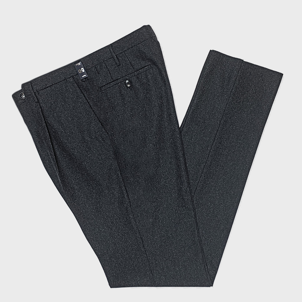 Rota Men's Wool Trousers Grey Anthracite
