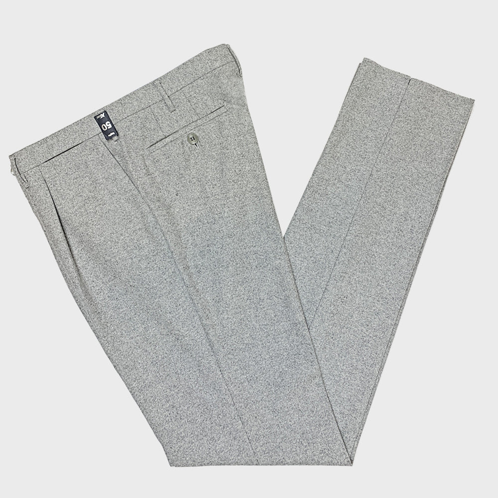 Rota Men's Wool Trousers Ice Grey