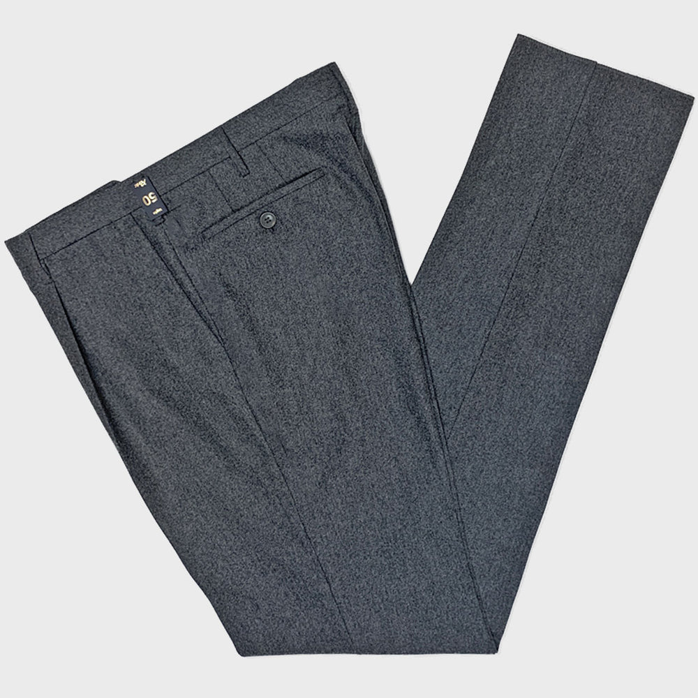 Rota | Men's Wool Trousers | Smoke Grey