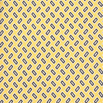 F.Marino Handmade 3-Fold Untipped Geometries Silk Tie Yellow