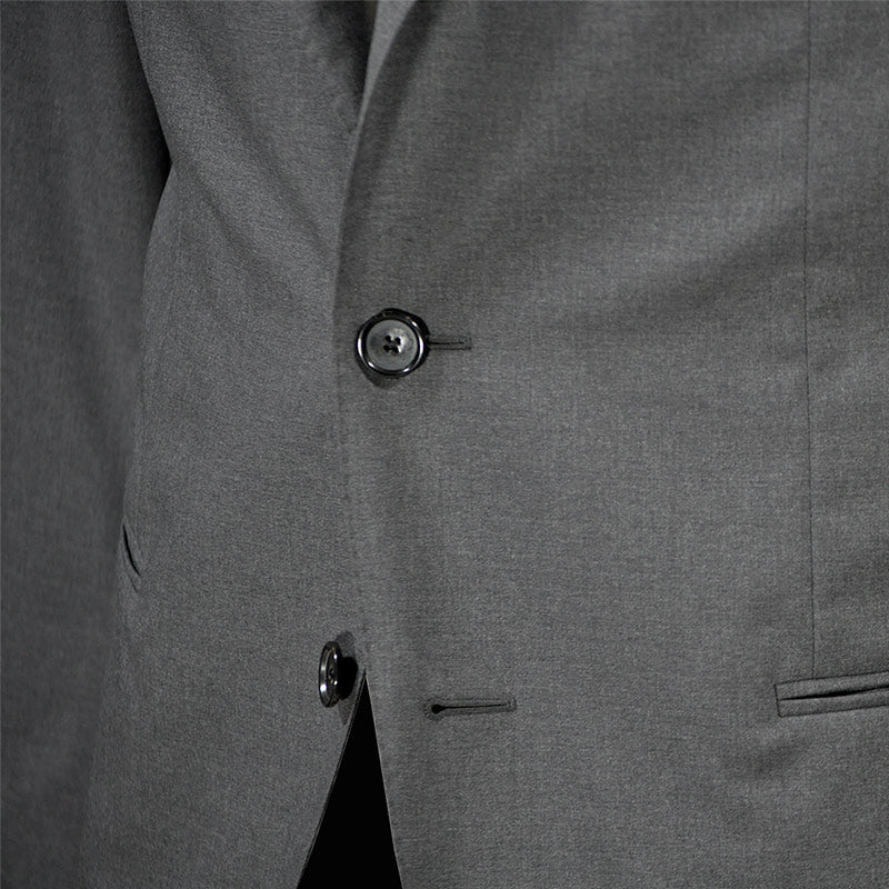 Caruso Men's Suit 130s Wool for Spring Summer Grey