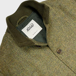 Valstarino Flight Jacket Fox Flannel Wool Herringbone