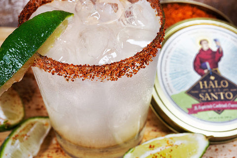 salt rim margarita