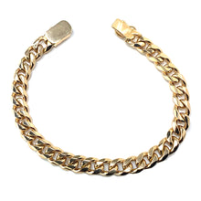 Load image into Gallery viewer, Oval Rose Gold Link Bracelet in 18k