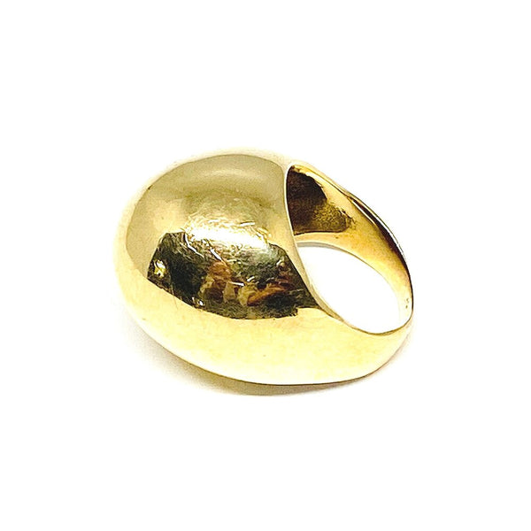 Classic Dome Cocktail Ring in 14K