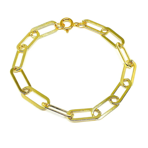 Big Gold Fill Link Bracelet