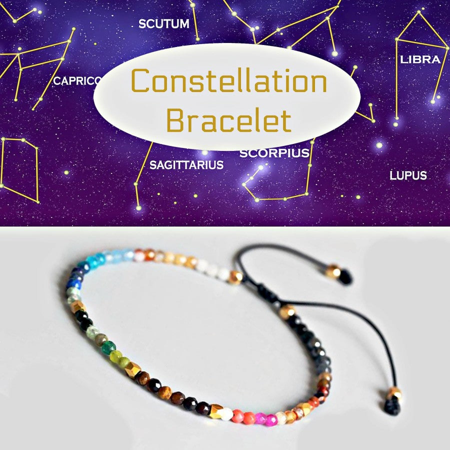 Gelang tali batu alam constellation