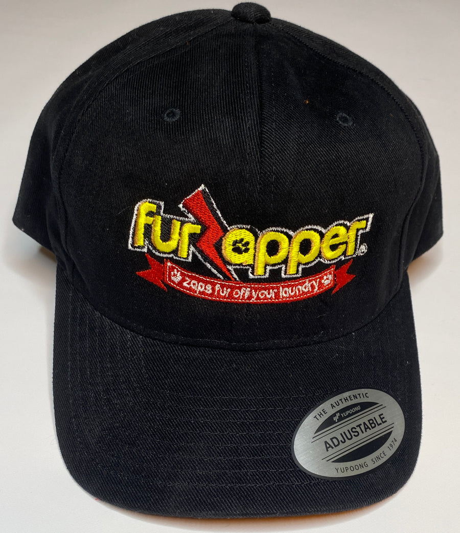 FurZapper Embroidered Hat - Black