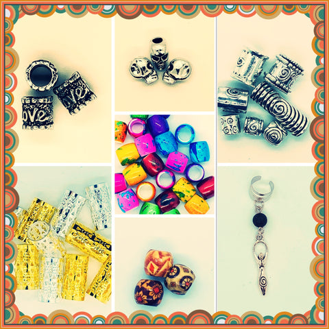 Dreadlock Beads & Cuffs