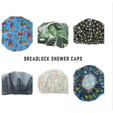 DREADLOCK Shower Caps