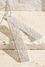 Filigree Bar Earrings