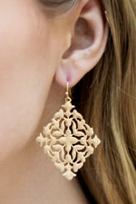 Filigree Diamond Earrings