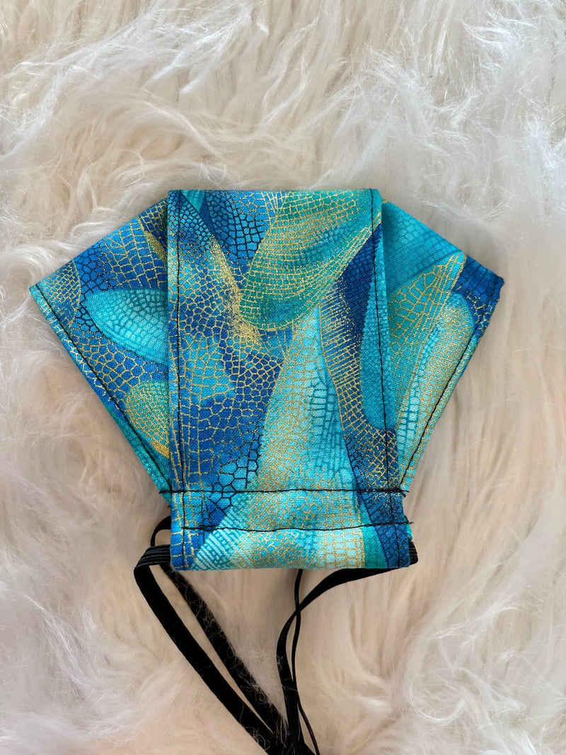 Dragonfly Wings Face Mask