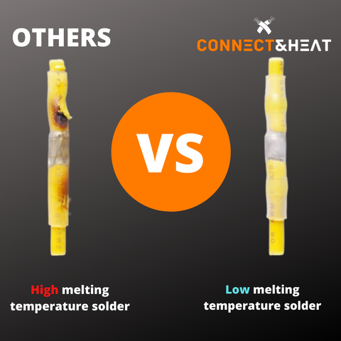 Connect&Heat™   The #1 Solder and Seal Connector