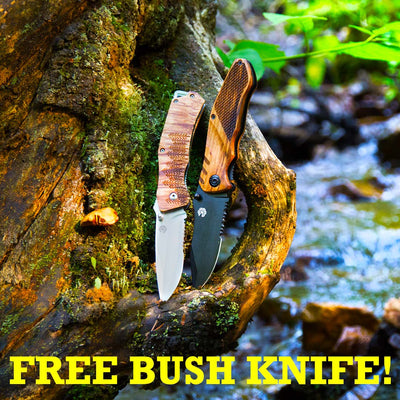 OUTBACK KNIFE + FREE BUSH KNIFE