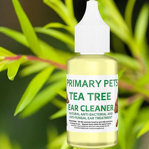Pure Tea Tree Ear Cleaner for Pets | 30ml Bottle