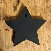 Upload the image to the gallery, Star to hang in the black concrete tree