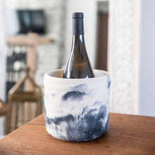 Upload picture to gallery, 6 inch concrete pot. ice bucket for wine! keep cold.